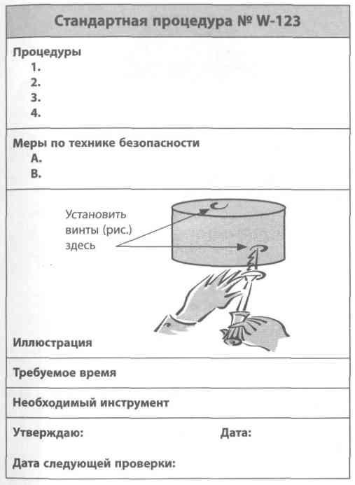 Стандартная Операционная Процедура Образец - фото 3